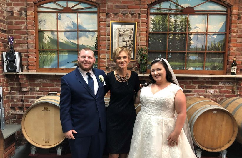 Wedding at the local winery