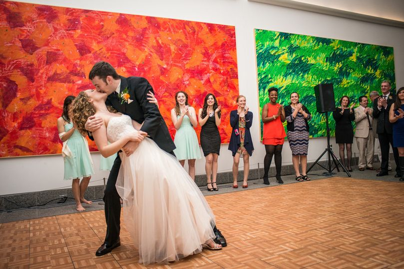 Dip and kiss   photo credit: Shannon Giselle Photography