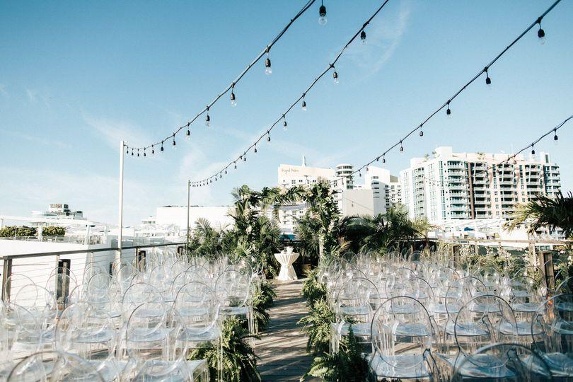 Skyline Deck Ceremony