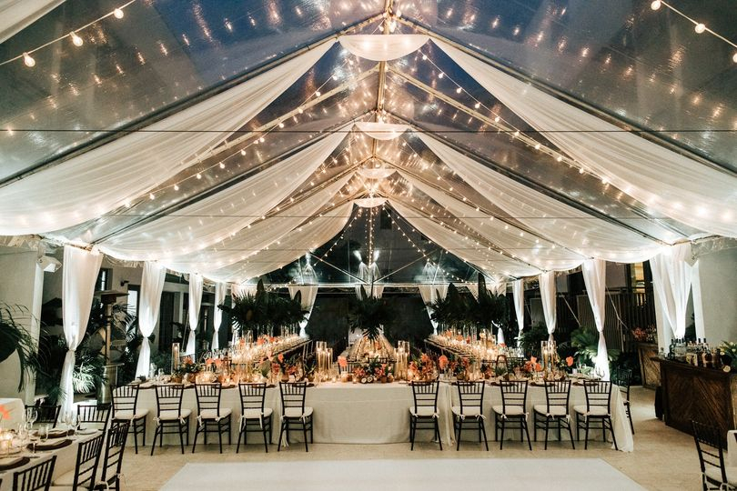 Tented Atrium Reception