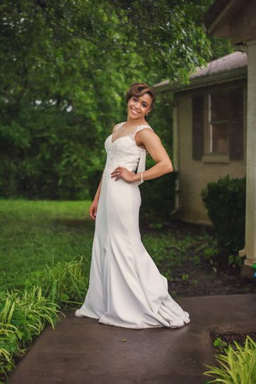 We capture the beautiful bride