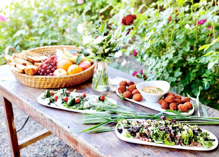 Beautiful food display from our kitchenCredit: Kimberlee Miller Photography