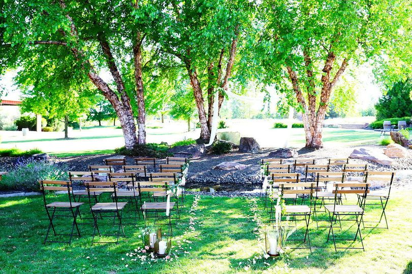 Ceremony locationCredit: Kimberlee Miller Photography