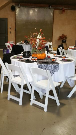 Table Set Up Idea