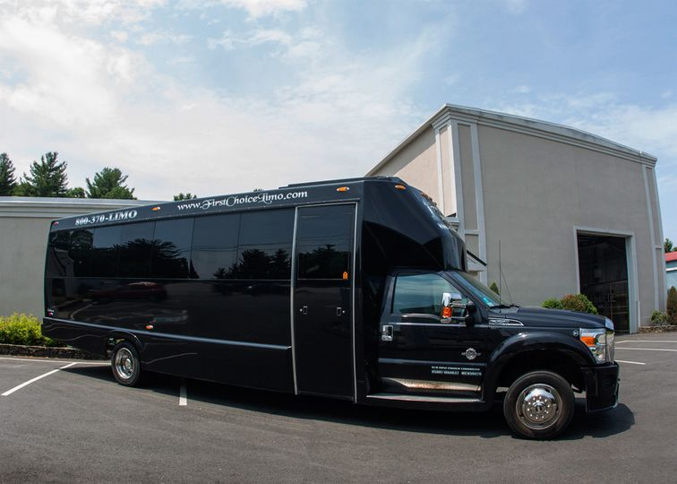party bus exterior 2