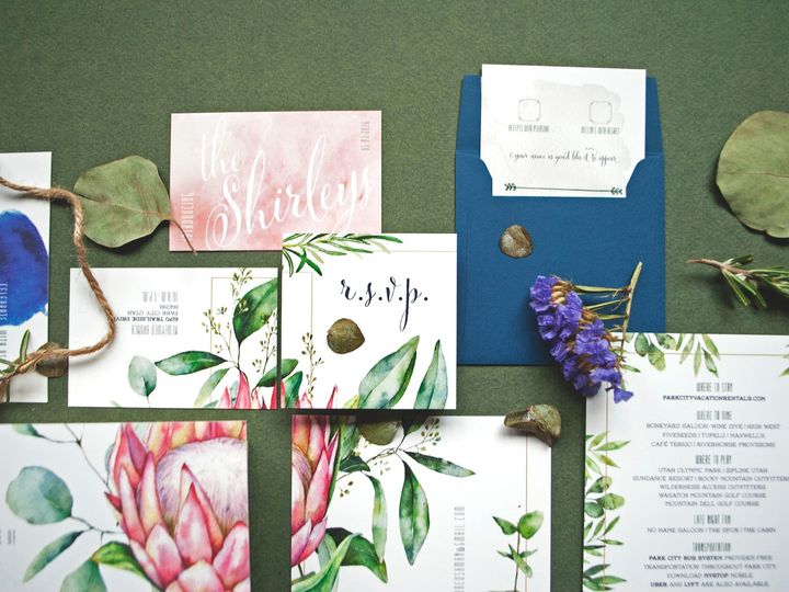 Tmx Invitesuite Flatlay4 51 1871839 158405072645355 Seattle, WA wedding invitation