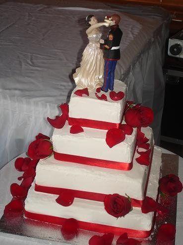 Custom cake for a bride on a budget