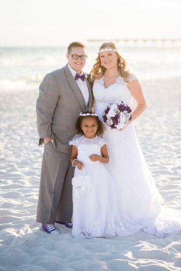 My beach wedding