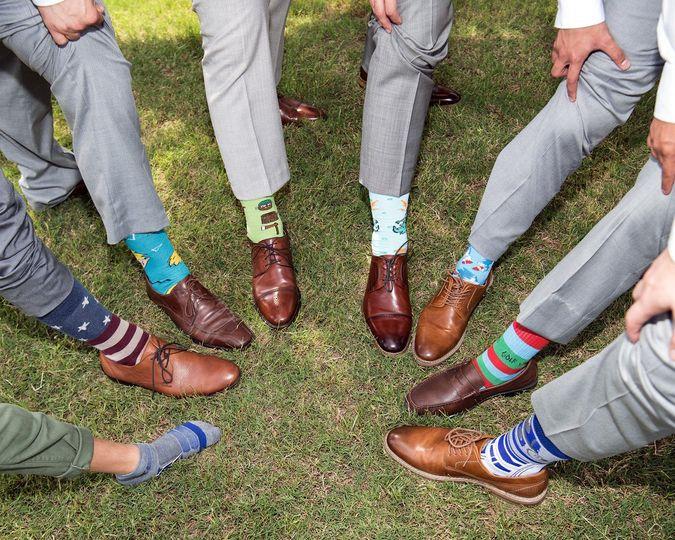 Footwear and socks
