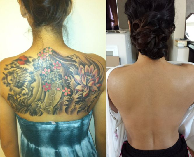 Tattoo Cover Up Airbrush Makeup Artist Beauty Health