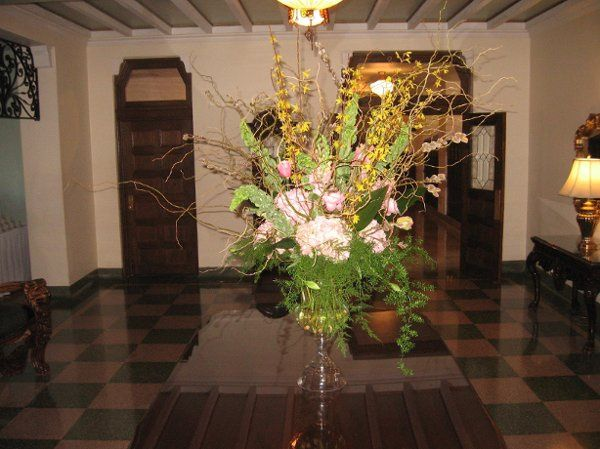 One astounding arrangement can fill a room with style.