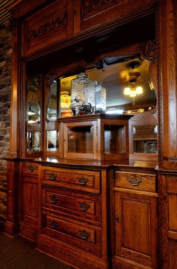 Ornate detailed bar
