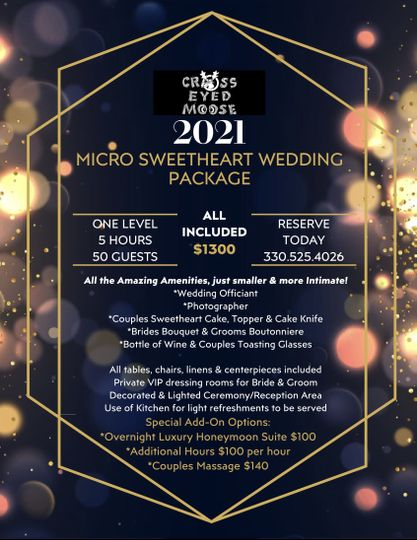 Micro Wedding!
