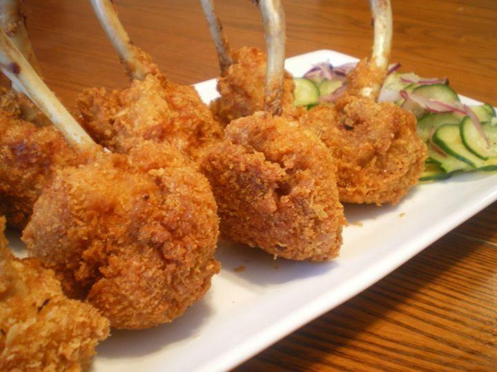 Tmx 1439943320500 Fried Chicken Lolipops Brea wedding catering