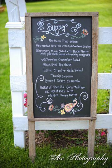 Copper Kettle menu