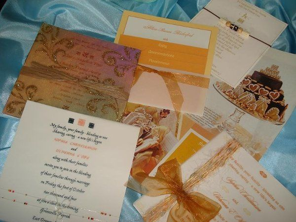 Using GOLD in your invitation adds a rich and warm effect.