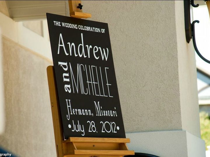 Tmx 1370183414777 Andrew And Michelle Sign Minneapolis wedding eventproduction
