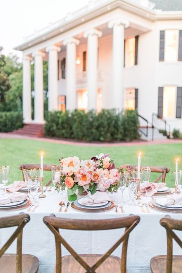 Southern tablescape