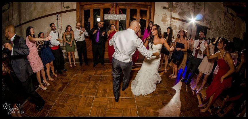 Our Wood Dance Floor