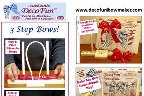DecoFun Ribbon Bow Maker