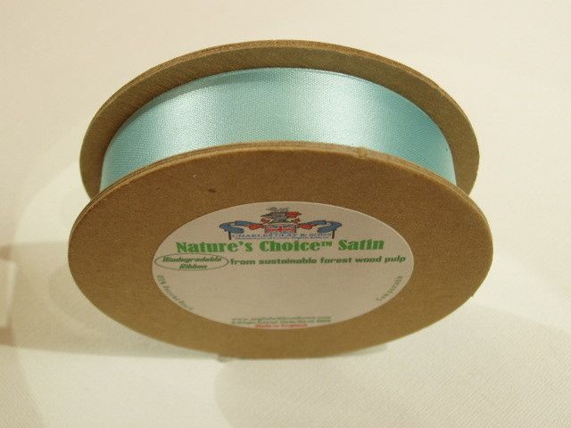 Tmx 1468022624376 Natures Choice Satin Ribbons 2010 Seamist Turq15 A New Canaan wedding favor