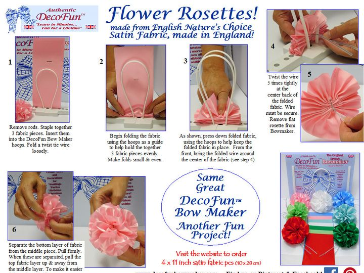 Tmx 1476905743140 Easy Decofun Rosette Instructions New Canaan wedding favor