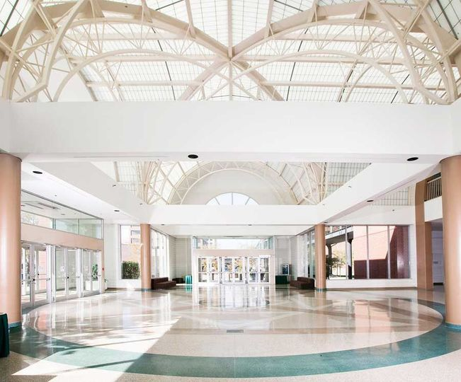 Our beautiful entrance & lobby, schedule your next site tour ! Our event planners can not wait to...