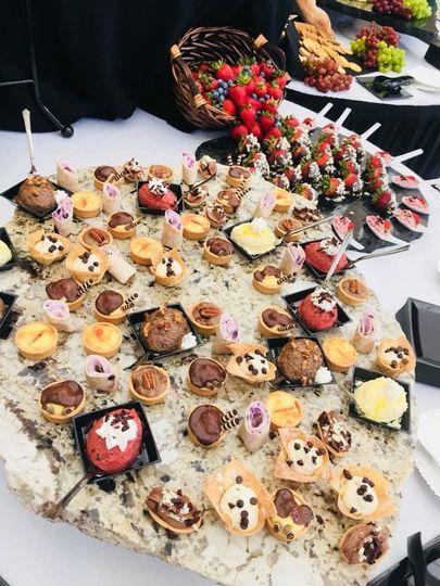 Custom Mini Desserts for your event