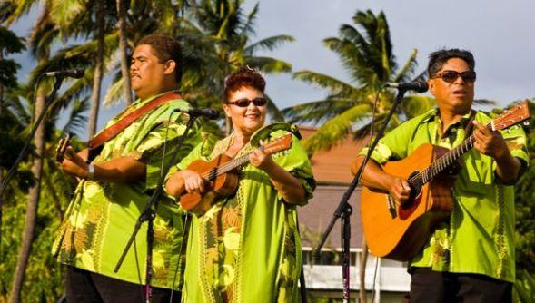 Ukulele and Island Band