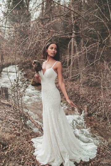 Pocahontas Wedding Dress