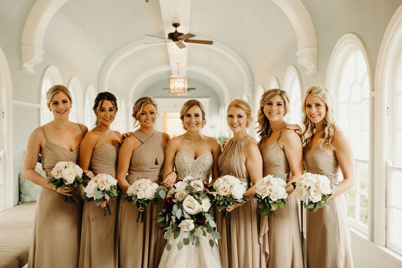 Allie and Bridal Party