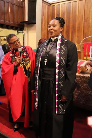 Ordained to officiate