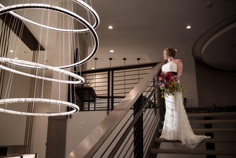 Bride @ staircase