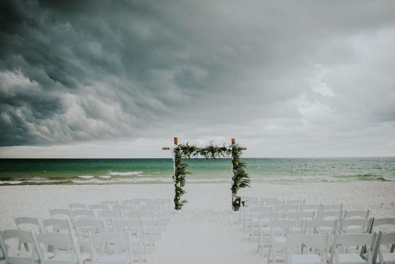 Destin beach wedding | Hello Miss Lovely Photography