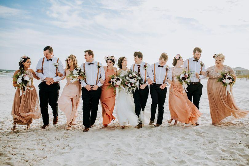 Pensacola beach wedding | Lucy Steiner Photography