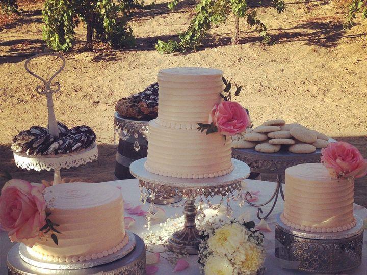Tmx 1413842965482 Img7478 Murrieta wedding cake