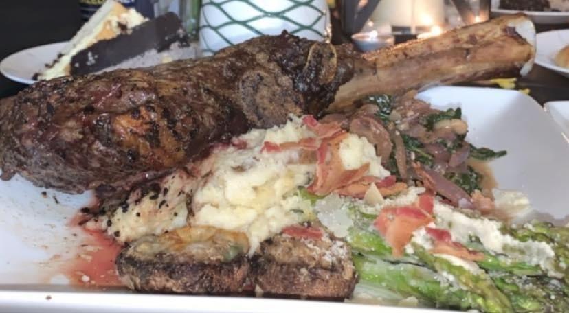 Grilled Ribeye Dinner