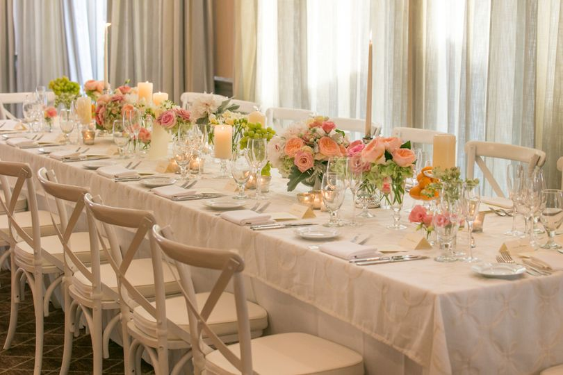 Chic head table