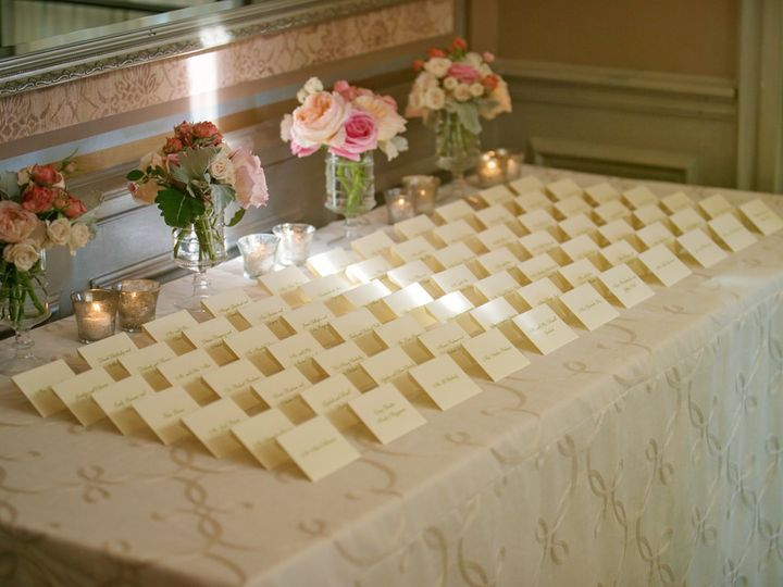 Tmx 1449699029792 Place Card Table Greenwich, New York wedding venue