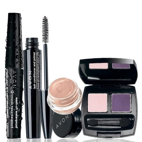 Get an eye-full of color! Prime lashes and lids before applying makeup for a professional,...