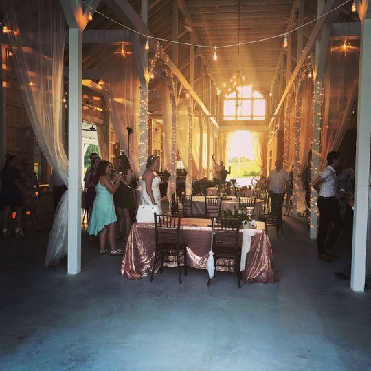 Traditional barn wedding