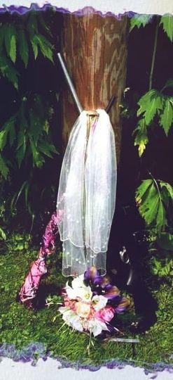 Custom wedding veil