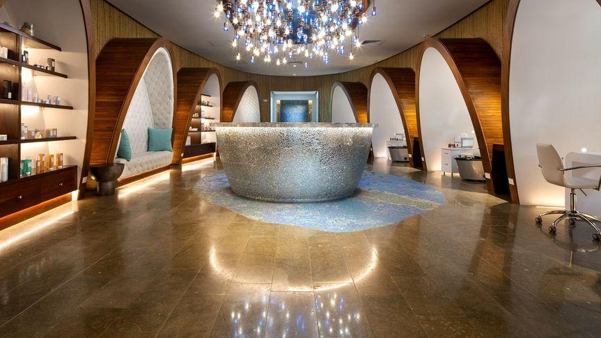 Inside the luxury spa