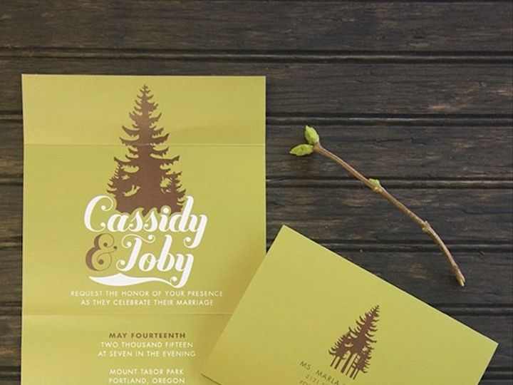 Tmx 1432497799626 226411572594572759840265272076n Portland wedding invitation