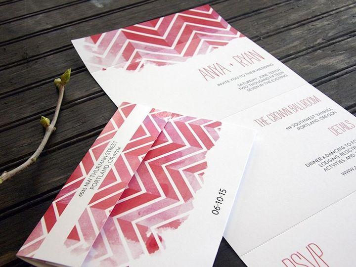 Tmx 1432497804647 295576572594526093178865863164n Portland wedding invitation