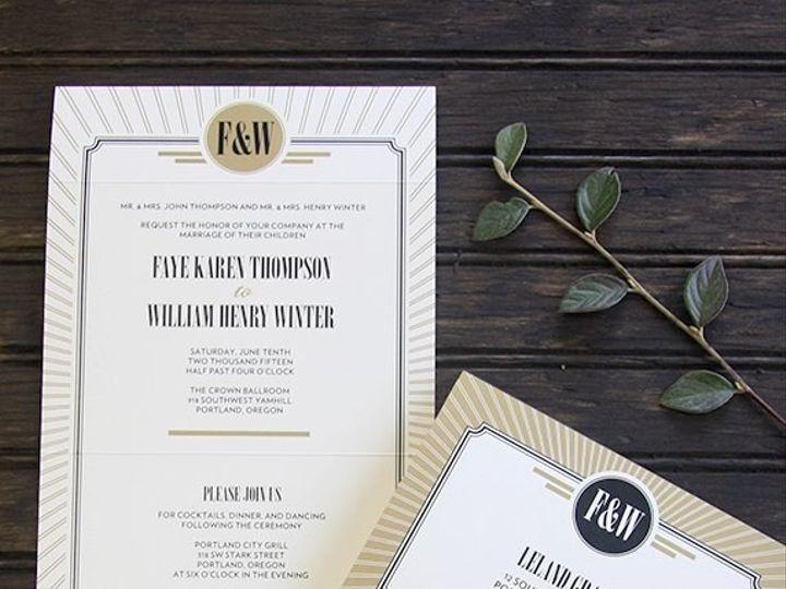 Tmx 1432497837981 5772955725946027598371906233203n Portland wedding invitation