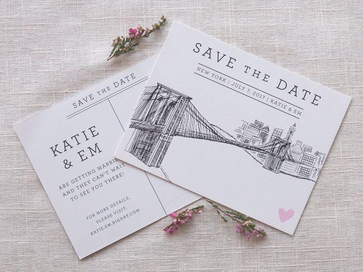 Tmx 1479418723341 Illustration Photos Portland wedding invitation