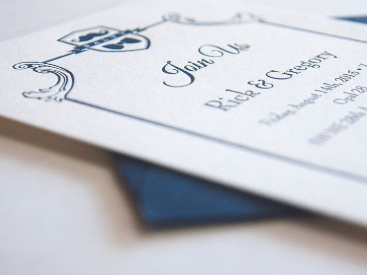 Tmx 1479419465417 Letterpress Photosnnew12 Portland wedding invitation