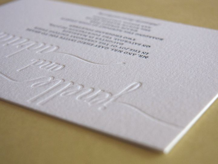 Tmx 1479419529508 Letterpress Photosnnew13 Portland wedding invitation