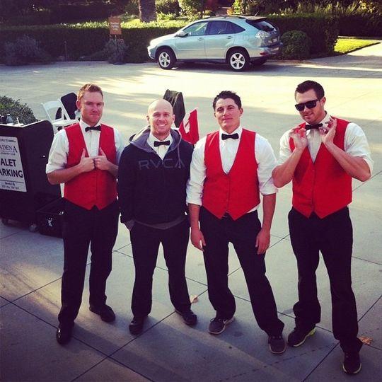 elite valet attendants